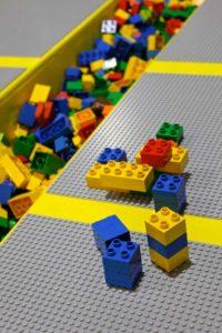 Giant Lego Wall